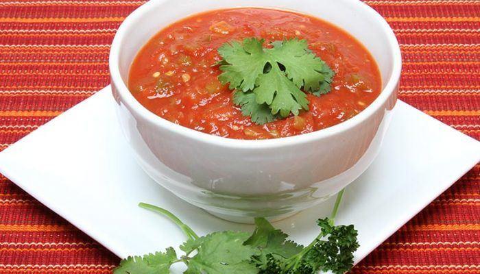 Gluten-Free Fresh Tomato Salsa Recipe