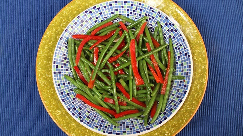 Gluten-Free Italian Style Green Bean Recipe