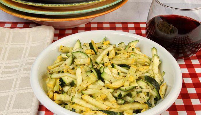 Gluten-Free Sautéed Italian-Style Summer Squash Recipe