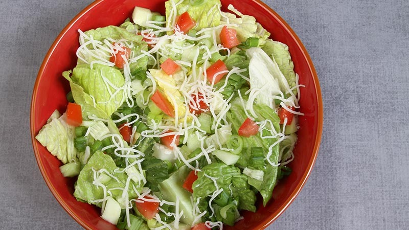Gluten-Free Simple Garden Salad Recipe