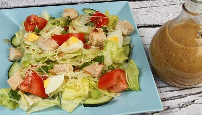 Gluten-Free Chicken Caesar Salad Recipe