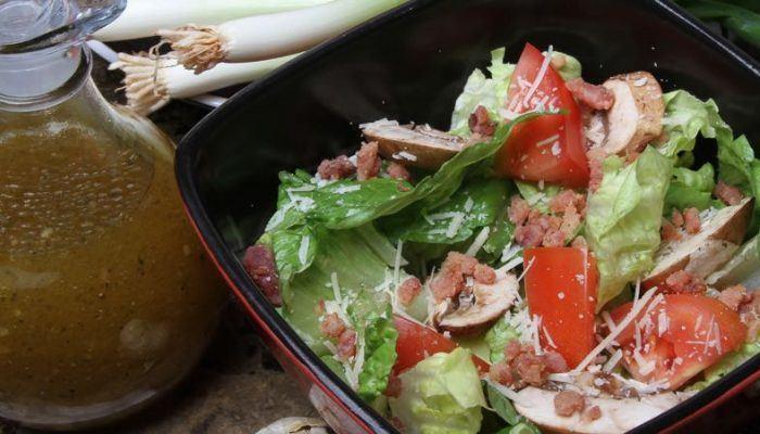 Romaine Salad With Mushrooms Gluten-Free Recipe