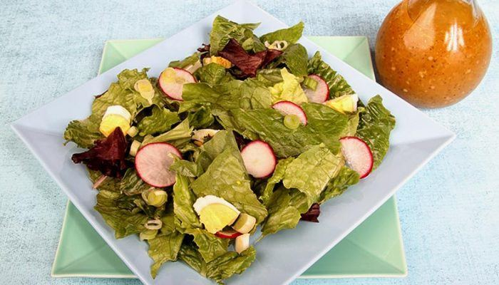 Gluten-Free Garden Fresh Salad of Greens Recipe
