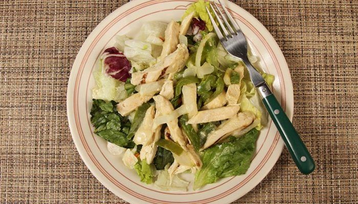 Gluten-Free Hot Chicken Philly Cheese Salad Recipe