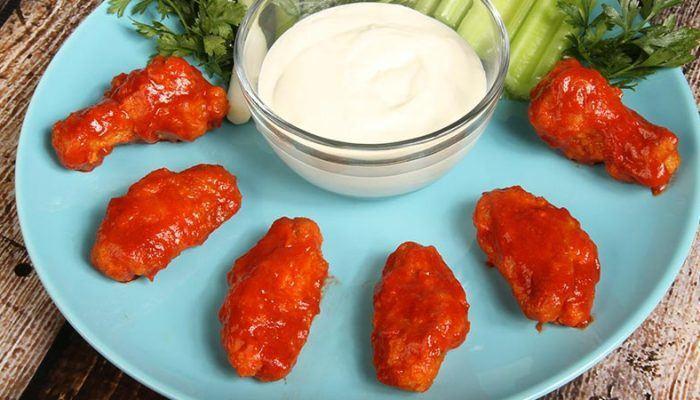Gluten-Free Sriracha Chicken Wings Recipe