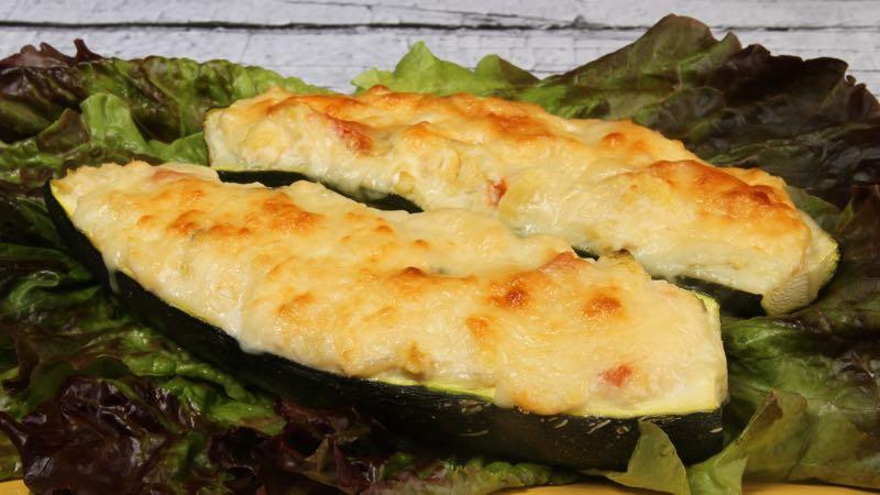 Gluten-Free No Sugar Added Crab-Stuffed Squash Recipe