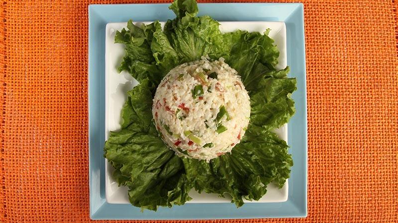 Gluten-Free Bacon Tomato and Cauliflower Salad Recipe