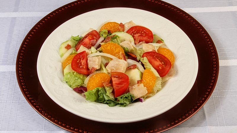 Gluten-Free No Sugar Added Citrus Chicken Salad Recipe