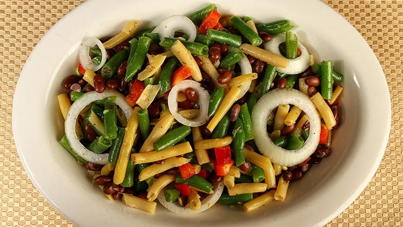 Gluten-Free Marinated Three Bean Salad Recipe